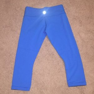 Lululemon Workout Cropped Pants